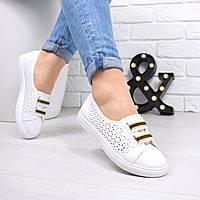 Кеды женские Perfe Белые 4627, кеды женские осенняя обувь