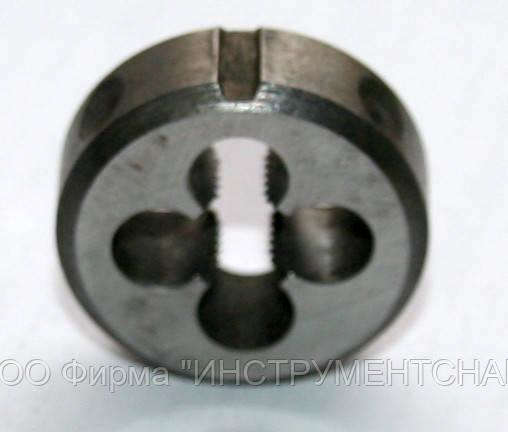 Плашка М-12х1,75, 9ХС, (38/14 мм), основной шаг