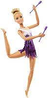 Barbie Барби Подвижная артикуляция 22 точки гимнастка Rhythmic Gymnast Doll Blonde Made to Move