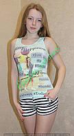"""Комплект с шортами женский """"Nicoletta"""""""