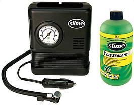 Ремкомплект для автопокрышек Smart Spair (герметик + воздушный компрессор), Slime
