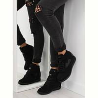Sneakersy женские черные 1542 BLACK