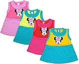 Платье детское с Микки Маусом на рост 69-72см, фото 2