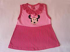 Платье детское с Микки Маусом на рост 69-72см