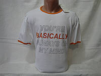 Распродажа мужских футболок. Все по 250 грн. Мужская футболка Bershka, фото 1