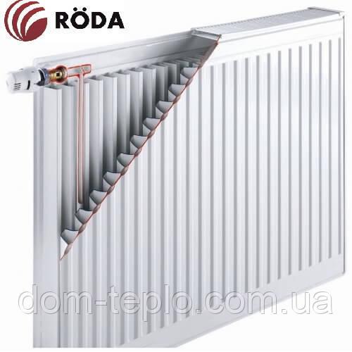 Радиатор стальной Roda RSR 500х1400 ➔ 11 ТИП ➔ боковое подсоединение