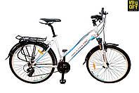 "Велосипед Mascotte City Like 26"" белый, фото 1"