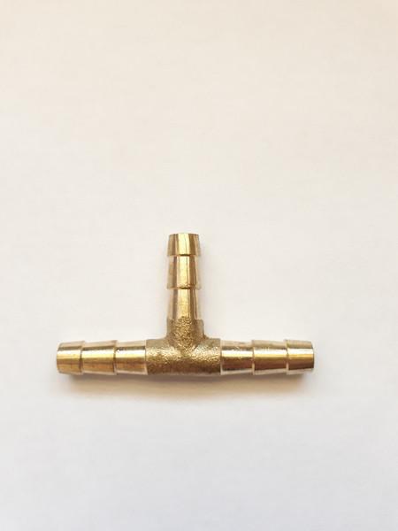 Соединитель шлангов (тройник) D=6мм