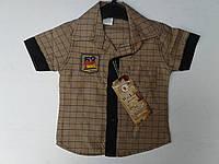 Рубашка для мальчиков. Размер от 1-4 лет. х/б., фото 1