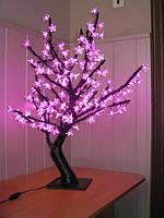 """Светодиодное дерево """"Сакура"""" розовая, 80 см. ВИТРИННАЯ! ТОЛЬКО САМОВЫВОЗ!"""