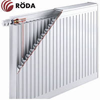 Радиатор стальной Roda RSR 500х2000 ➔ 11 ТИП ➔ боковое подсоединение