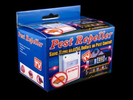 Ультразвуковой отпугиватель грызунов и насекомых Riddex Pest Repeller (Пест Репеллер) Как на TV