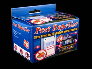Ультразвуковой отпугиватель грызунов и насекомых Riddex Pest Repeller (Пест Репеллер) Как на TV, фото 2