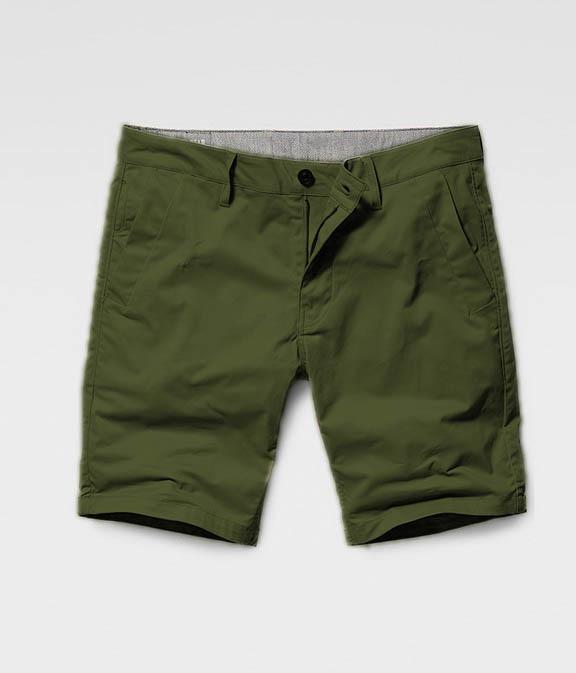 Мужские шорты с карманом под Iphone олива
