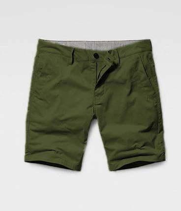 Мужские шорты с карманом под Iphone олива, фото 2