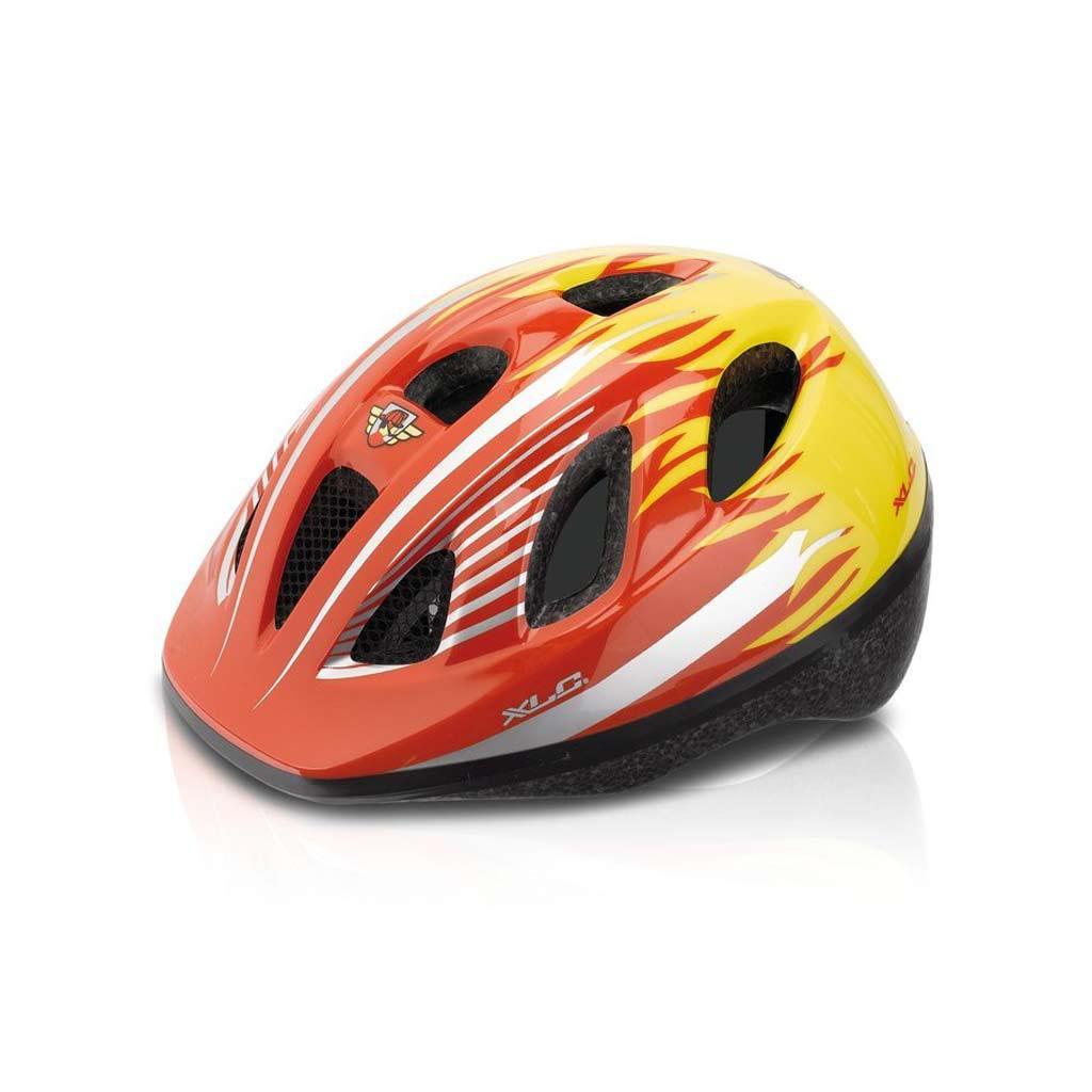 Шлем детский XLC BH-C16, красно-желтый, XS/S (49-54)