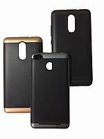 Чехол Ucase EASYBEAR Carbon pattern PC+TPU для iPhone 6/6S \ Gold