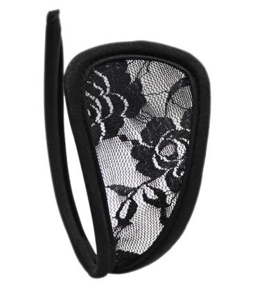 Трусики С-стринги черные, фото 2