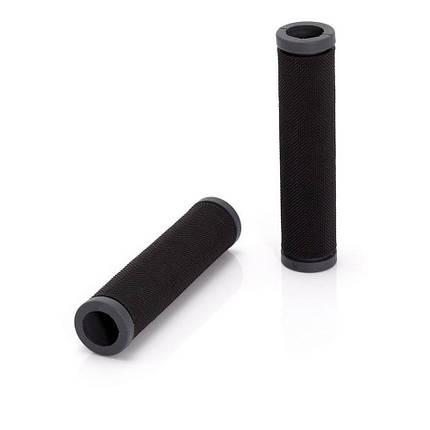 Грипсы 'Sportiv'  XLC GR-G05, черно-серые, фото 2