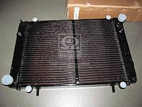 Радиатор вод.охлажд. (330242-1301010-01С) ГАЗ 3302 (3-х рядн.) (под рамку) медн.<ДК>