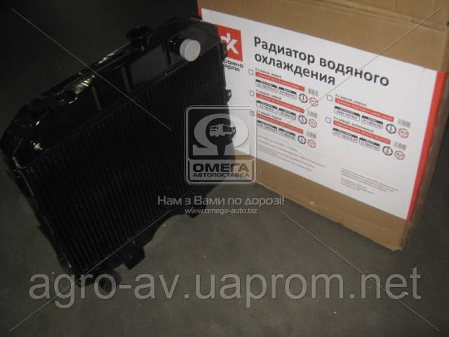 Радиатор вод.охлажд. (3741-1301010-01С) УАЗ (3-х рядн) медн.