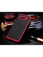 Чехол Motomo slim line для Samsung Galaxy J7 красный, фото 1