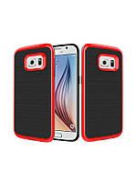 Чехол Motomo slim line для Samsung Galaxy S6 edge красный