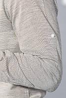 Рубашка классическая светлая 333F013 (Серый)