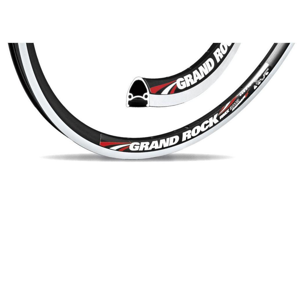 """Обод Grand Rock 26"""" (559x19) серебристый,V- brake, 36 спиц"""