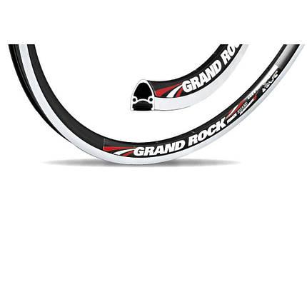"""Обод Grand Rock 26"""" (559x19) серебристый,V- brake, 36 спиц, фото 2"""