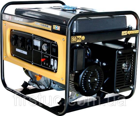 Бензиновый генератор KIPOR  KGE 4000C + АВР