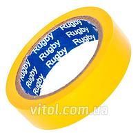 """Изоляционная лента PVC RUGBY (""""RUGBY""""-7), длина 25 м, ассорти, ПВХ, изолента, липкая лента, изоляционный материал, электроизоляционная лента"""