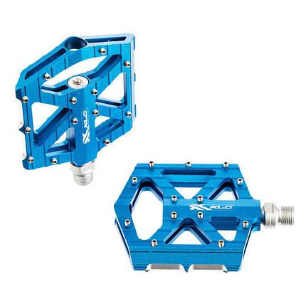 Педали XLC PM-M12, 350 гр, синие, фото 2