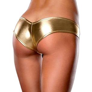 Трусики Afina Lux S золотистые, фото 2