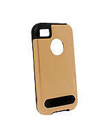 Чехол Motomo Guard Series для iPhone 4 золотой