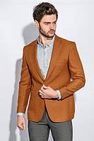 Пиджак мужской стильный 409F003 (Кирпичный)