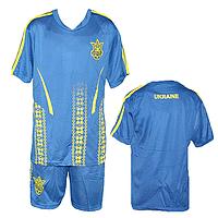 Детская и подростковая футбольная форма Украина Размеры: от 7 до 14 лет