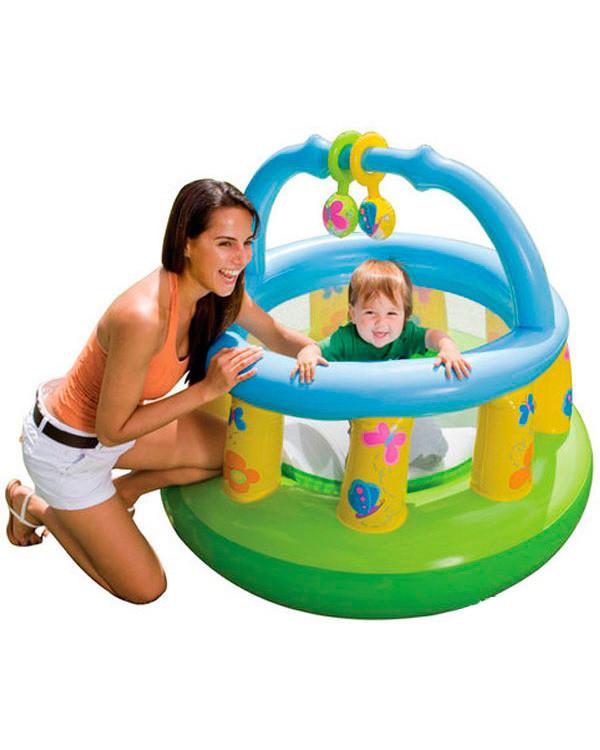 Манеж детский надувной Intex 48474
