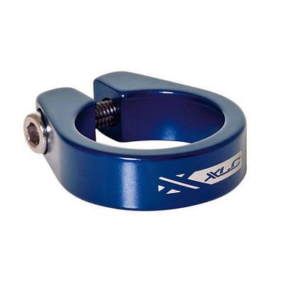 Хомут XLC PC-B05, Ø34,9мм, синий, фото 2