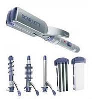 Щипцы для волос, гофре, выпрямитель для волос Scarlett SC-065, фото 1