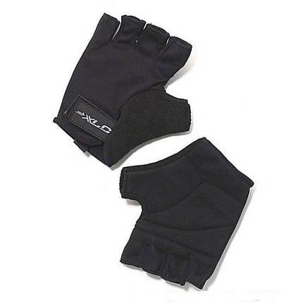 Перчатки велосипедные Saturn XLC, черные, размер XL, фото 2