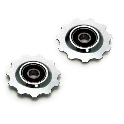 Ролики заднего переключателя XLC, серебристые, фото 2