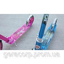 Самокат Razor Scooter A5 Lux Blue, фото 3