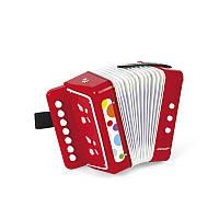 Музыкальный инструмент Janod Аккордеон J07620, детский аккордеон