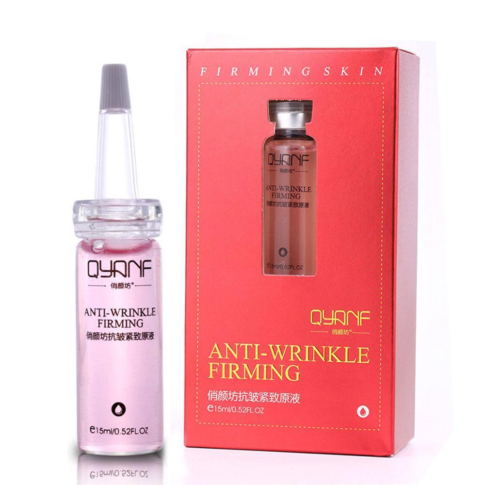 Антивозрастная сыворотка,гиалуроновая кислота QYANF ANTI-WRINKLE FIRMING 15ml