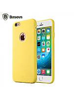 Чехол Baseus Mousse для Iphone 6/6S Plus желтый, фото 1