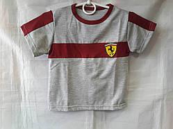 Футболка детская для мальчиков с логотипом Ferrari