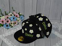 """Реперки  детские с прямым козырьком на окружность головы 50-54см. """"Daisy"""""""