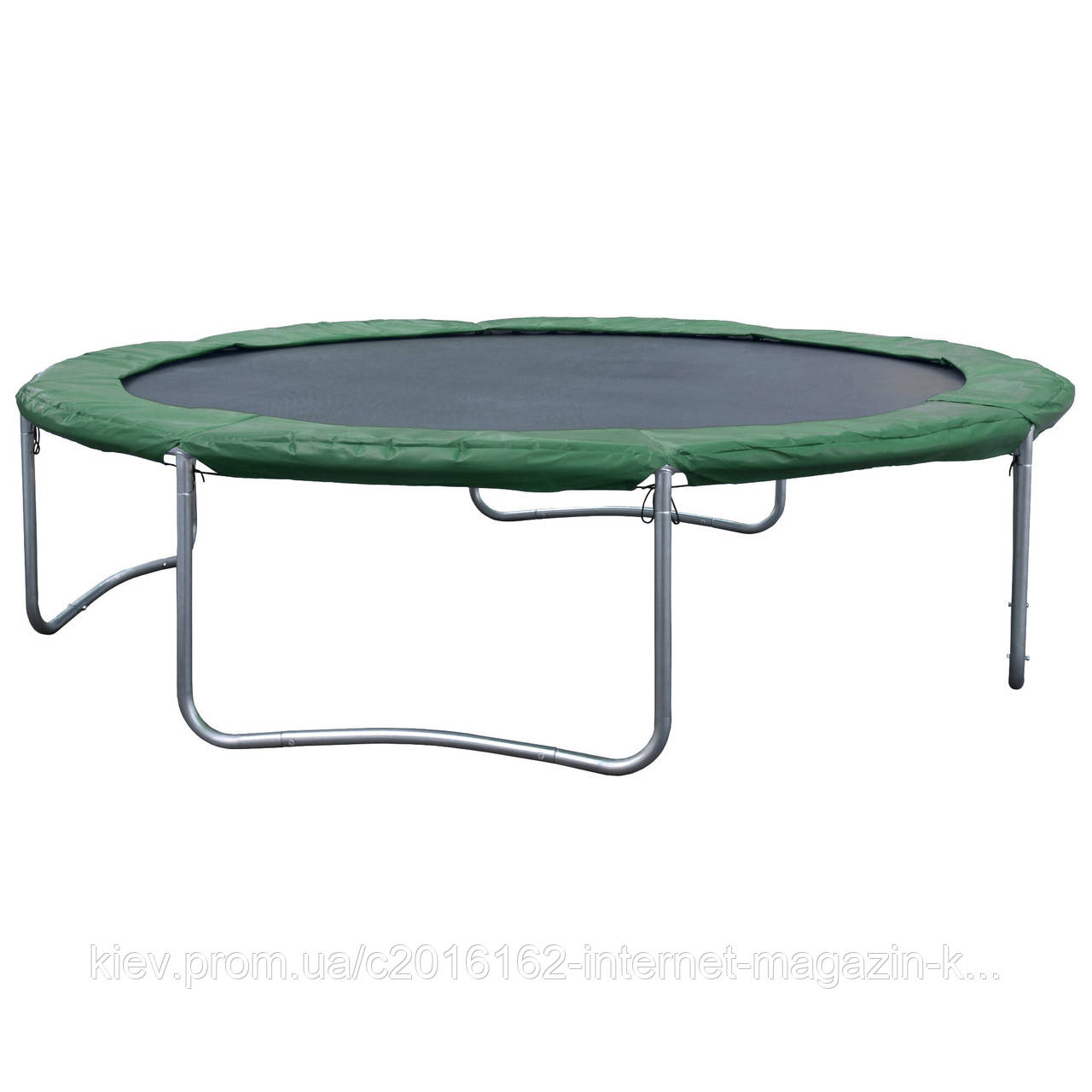 Батут спортивный металл каркас 2мм Free Jump Trampoline D426cm