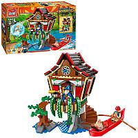 Конструктор Пираты на 506 деталей - серия пираты, постройка, фигурки, Brick 1309